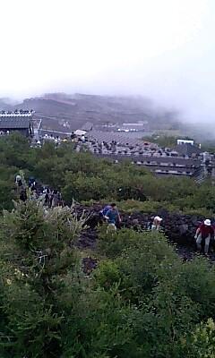 富士山からの景色 2