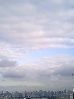 雨上がりの空@地上200m